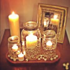 sweet candle display with mason jars diy tips u0026 tricks