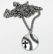 baseball jewelry men s baseball pendant necklace phil 4 13 christian baseball