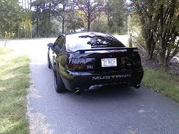 All Black Mustang M12nv 2003 Ford Mustang Specs Photos Modification Info At Cardomain