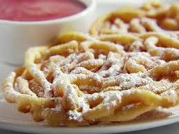 funnel cakes with strawberry sauce recipe sandra lee food network