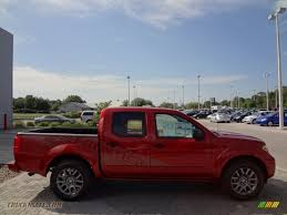 red nissan 2012 2012 nissan frontier sv sport appearance crew cab in lava red