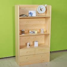 bookcase simple pine furniture locker open bookcase
