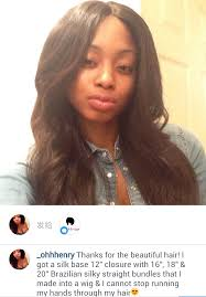 black hair weave part in the middle silky straight brazilian virgin hair 3 5x4inches middle part