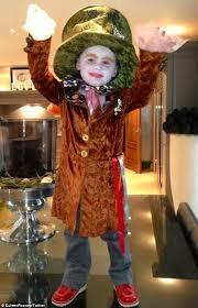 kai rooney dresses as alice in wonderland u0027s mad hatter to