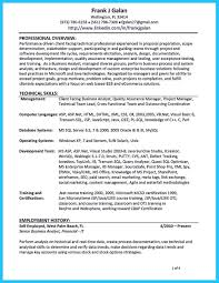 business analyst resumes examples agile tester cover letter qa