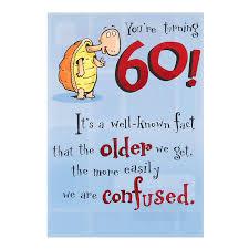60 Birthday Cards Hallmark 60th Birthday Card You Re Turning 60 Medium Amazon