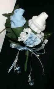 Baby Sock Corsage Baby Sock Boutonniere Instructions