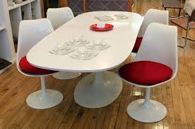 mid century modern dining table white cozy mid century modern