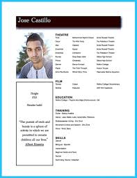 Resume Templates Microsoft Word 2010 by Actor Resume Template To Boost Your Career