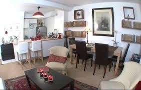 salon et cuisine deco salon et cuisine ouverte maison design bahbe com