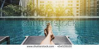 underwater swimming pool stock photo 653543935
