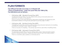 How To Read Dimensions How To Read Plan Formats And Definitions Of Lots And Common Property