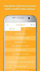 bca gold card mallsini 1 0 1 apk androidappsapk co