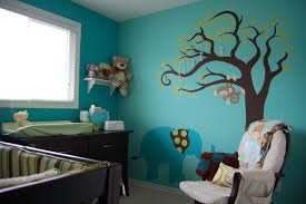 Nursery Decor Toronto Teal Elephant Nursery Contemporary Toronto By Decked