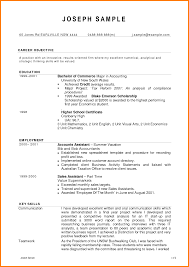 transform sample resume accounting student for your 28 sample