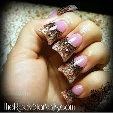 acrylic nails tutorial fall nails