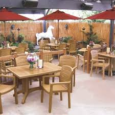 Best Wood For Outdoor Table by Commercial Patio Furniture For Restaurants