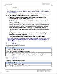 statement of work ms word u0026 excel template