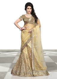 lengha choli for engagement buy lenghas for engagement online indian gold color ghagra