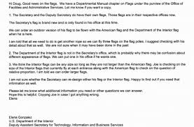 Department Of The Interior Doi Interior Decorator Zinke U0027s Push To Redesign Flags And Accessorize