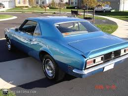 blue 68 camaro 1968 chevrolet camaro ss id 15709