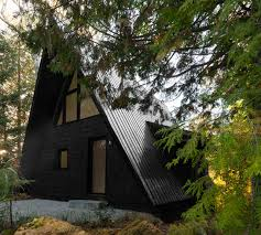 a frame house m a di unfolds into a solar powered a frame in just a few hours