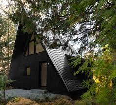 a frame home designs jean verville architecte renovates a canadian a frame house