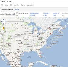 Google Fusion Tables Map Instantly Visualize Data U0026 Information With Google Fusion Tables
