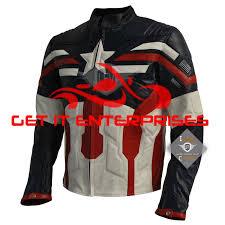 motorcycle racing jacket captain america motorbike motorcycle racing 100 leather jacket by