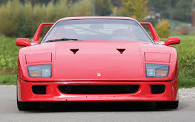 ferrari front png model masterpiece ferrari f40 premier financial services