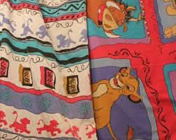 lion king wrapping paper 90s bedding etsy