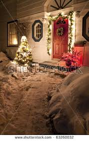 christmas decoration house stock images royalty free images