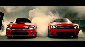 dodge charger vs challenger dodge charger and challenger hellcat commercial 2015