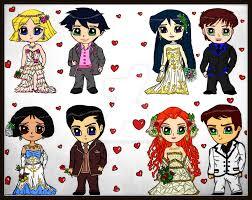 totally spies wedding chibis 2 cresenta lark deviantart
