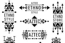 tribal mexican vector ornaments graphics creative market