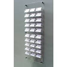 30 bay wall mount business card holder free shipping co