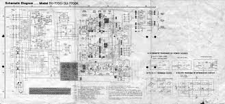 technics su 7700k service manual download schematics eeprom