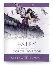 fairy companions colouring book selina fenech