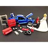 mechanic wedding cake topper wedding reception party shop garage mechanic tool