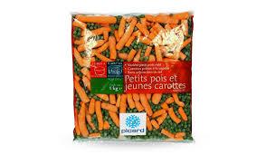 cuisiner des petit pois surgel petits pois doux fins et jeunes carottes surgelés les