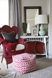 bright coloured cushions can bring life to simple furniture and