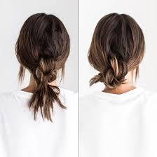 Frisuren Lange Haare Knoten by Einfache Frisuren 5 Schnelle Frisuren Für Ungewaschene Haare