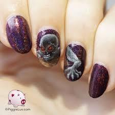 piggie luv brings nail artwork on new level cutpastestudio
