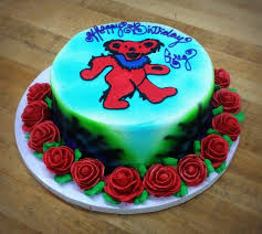 cake with grateful dead trefzger s bakery