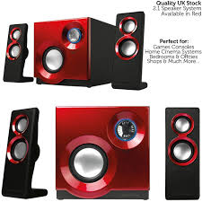 compact home theater system quality 2 1 compact surround sound gaming speaker amazon co uk