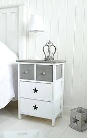 Cheap White Gloss Bedroom Furniture by Side Table Provencal Charm Shabby Chic Bedside Table White Gloss