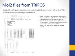 format file atom chemical file formats for storing chemical data