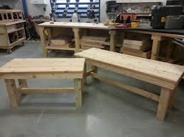 Handmade Outdoor Furniture by Handmade Patio Benches By Prairie Woodworks Llc Custommade Com