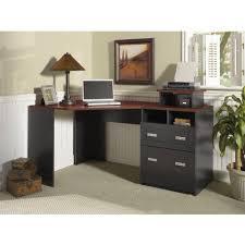 Corner Desk Cherry Wood by Techni Mobili Rolling Laptop Cart Reviews Wayfair Loversiq