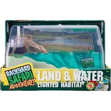 Backyard Safari Company - backyard safari land and water lighted habitat walmart com